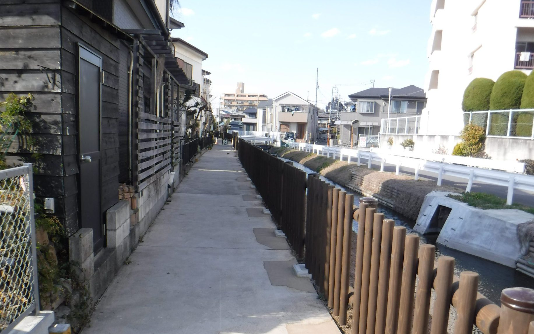 防護柵設置工事(さいたま市中央区)
