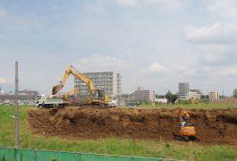 造成工事(さいたま市中央区)