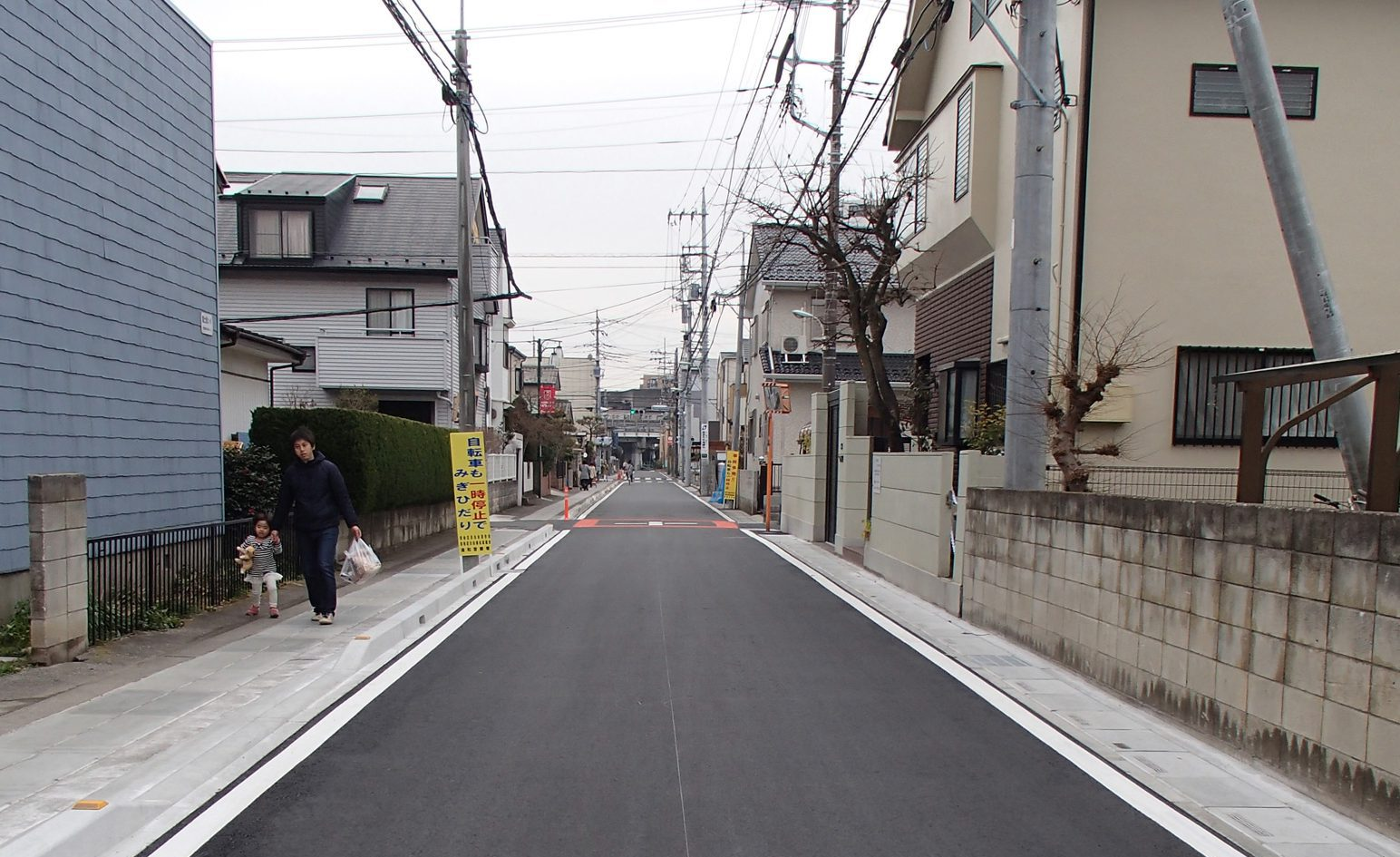 歩道整備工事(さいたま市南区)