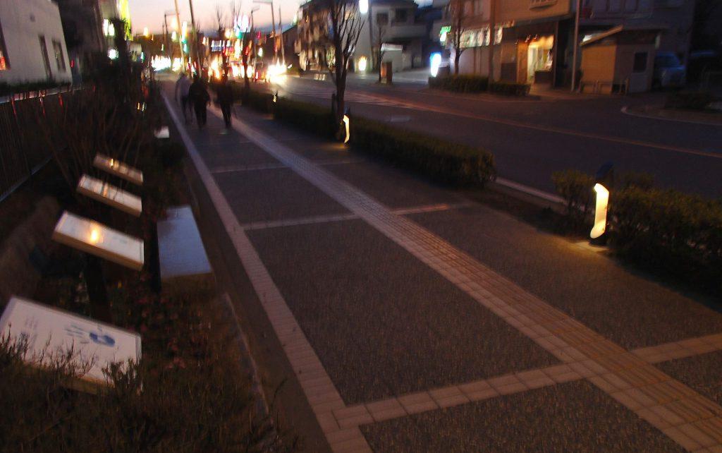 歩道整備工事(さいたま市中央区:アートストリート)