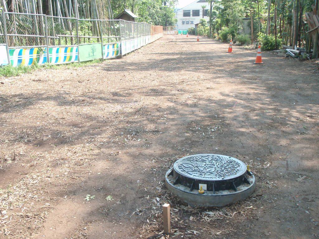 下水道工事(さいたま市緑区)